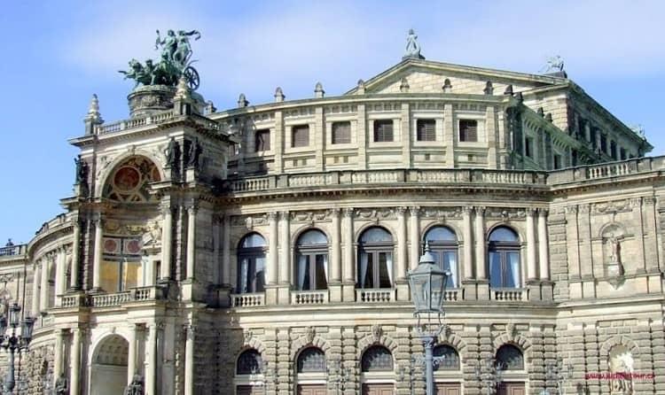 Опера, Дрезден