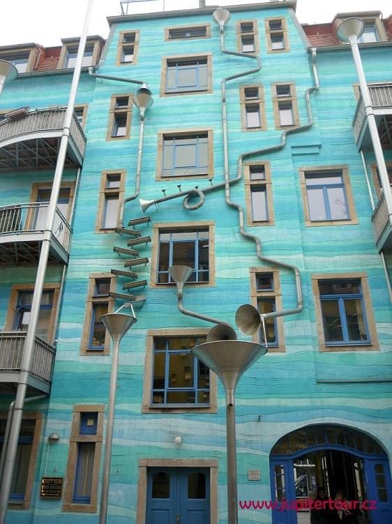 Необычный дом, Дрезден