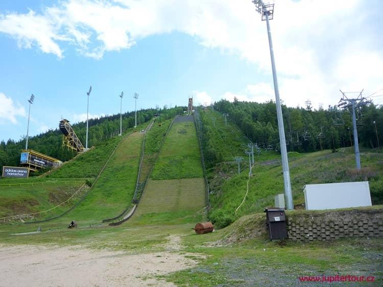 Гаррахов, горнолыжный спуск