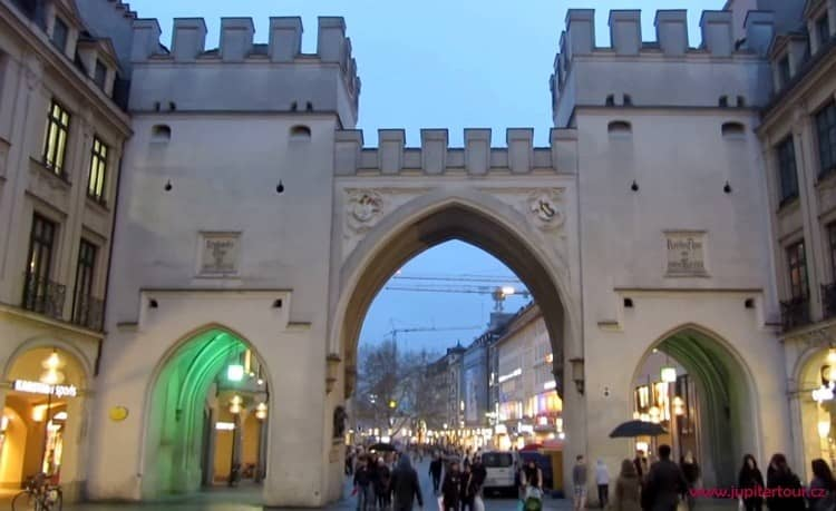 Ворота Карлстор, Мюнхен, Германия