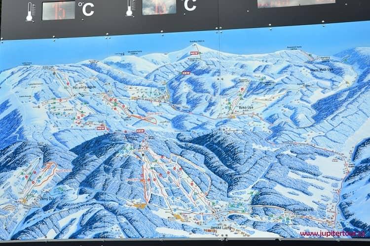 Лыжные трассы, Пец под Снежкой, Чехия