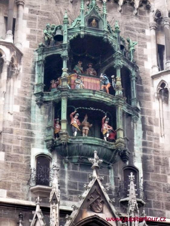 Куранты, Новая ратуша, Мюнхен, Германия