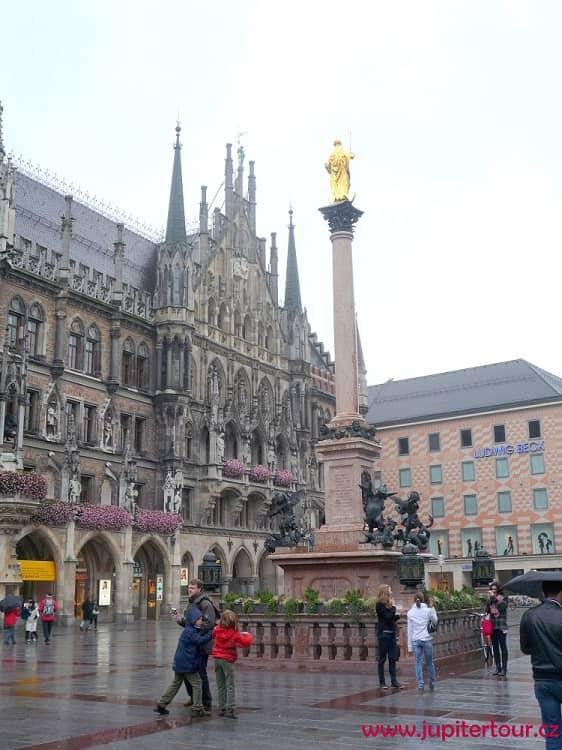 Мариенплац, Мюнхен, Германия