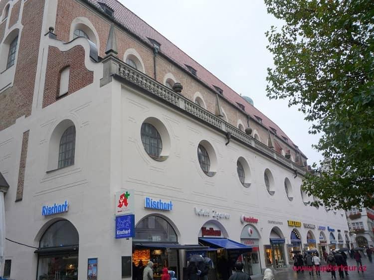 Крытый рынок Шранненхалле, Мюнхен, Германия