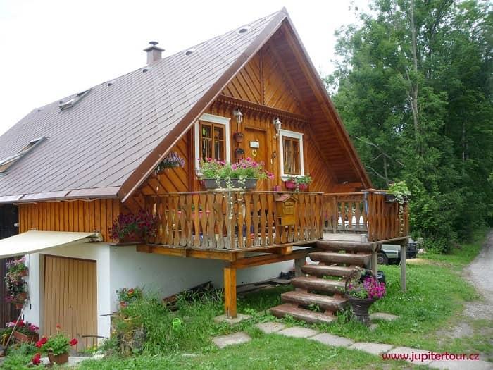 Деревянный дом, Рокитнице над Йизерой