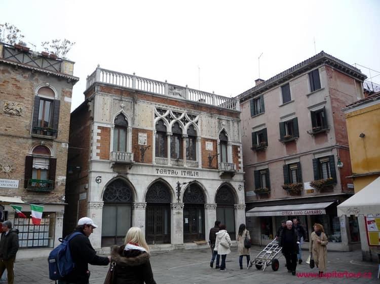 Венецианский театр, Италия