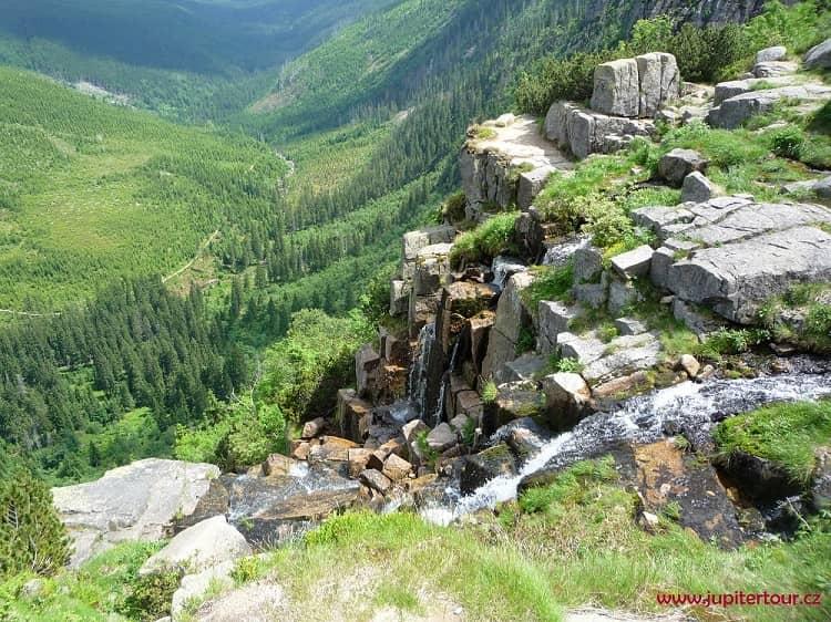 Панчавский водопад, Крконоше