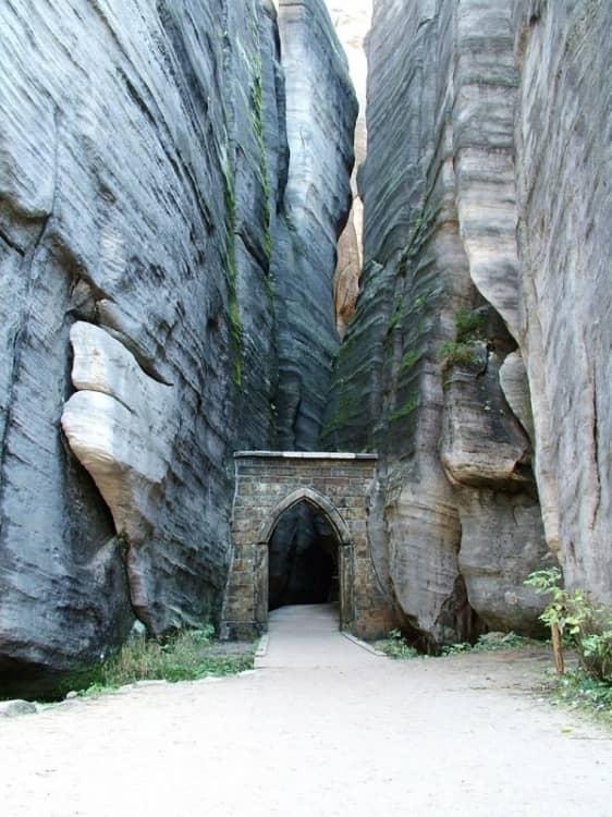 Ворота, Адршпарские скалы, Чехия